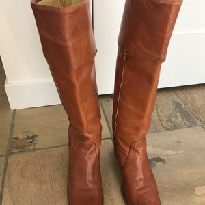 Frye boots: tall, vintage from late 70's